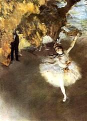 Edgar Degas - Ballerina che fa il salto