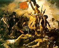 Eugene Delacroix - La liberta che guida il popolo