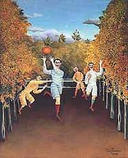 Henri Rousseau - Giocatori di football.