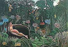 Henri Rousseau - Il sogno.