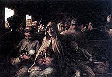 Honoré Daumier - Il vagone di terza classe.