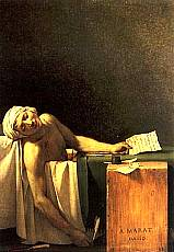 Jacques-Louis David - La morte di Marat
