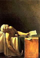 Jacques-Louis David - La morte di Marat