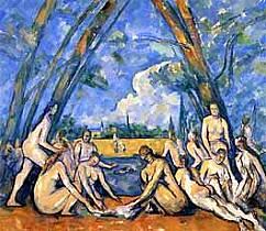 Paul Cèzanne - Le grandi bagnanti