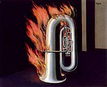 René Magritte - La scoperta del fuoco.