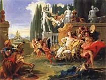 Gianbattista Tiepolo - Trionfo di Flora.