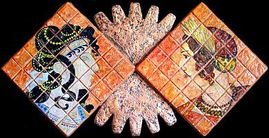 Il mosaico delle civiltà - Opera dell'artista Anna Maria Guarnieri